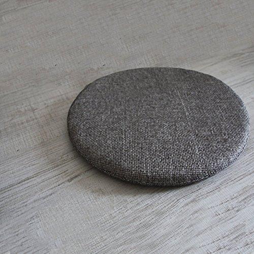 arketicom set 4 pz cuscini sedie cucina rotondi sfoderabili senza alette cotone poliestere copri sedia tondo cuscino casa giardino personalizzabili