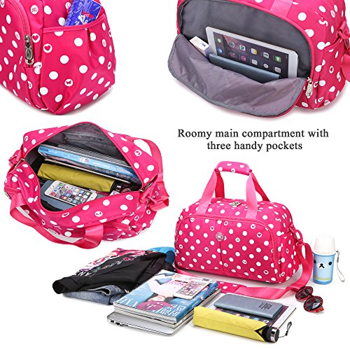 Borsa a maniche con tacco a tracolla regolabile per spettacoli regolabili per spettacoli teen girl AOKE Small arancia