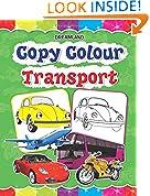 #10: Copy Colour: Transport (Copy Colour Books)