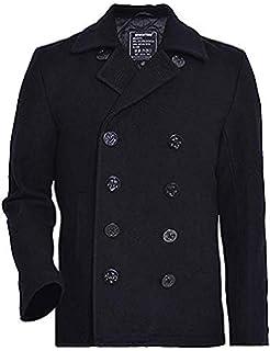 Brandit Pea Coat Manteau Caban Manches Longues