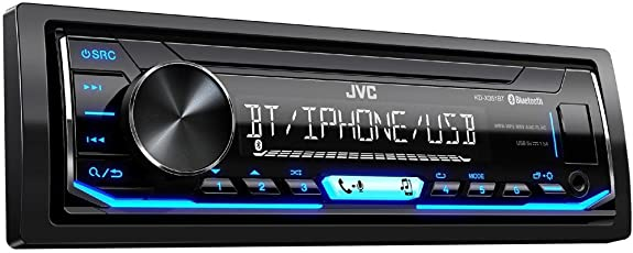 JVC KD-X351BTMN Digital Media Receiver for Car (Black)