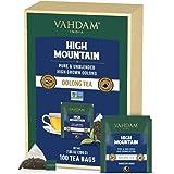 VAHDAM, Té Oolong del Himalaya (100 Bolsitas de Té) – Tisana Detox 100% Natural | Infusión de Oolong 100% Puro, Sin Mezclar |