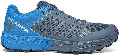 SCARPA Spin Ultra Iron Gray Vivid Blue 33072-350-6