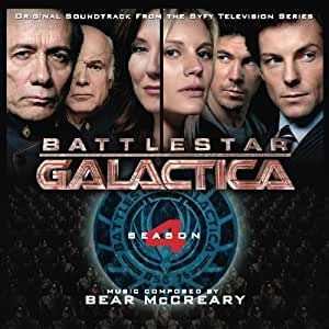 Battlestar Galactica: Season 4 Soundtrack edition (2009) Audio CD