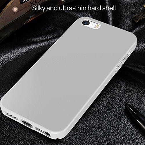 HX-412XFAY Schlanke Glatt und geschmeidig, iPhone 5/5sHülle, iPhone 5S/5/SE Hülle Passgenaues Premium Hart-PC Schale /Handyhülle/ Schutzhülle,Anti-Kratzer,anti-Fingerabdruck, Stoßfest für iPhone5/iPho Farbe-6