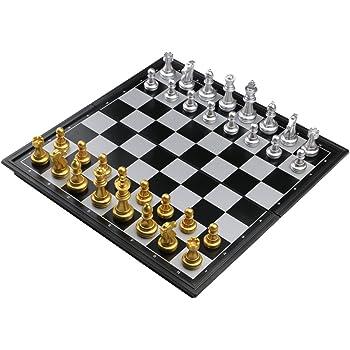 Jeu d'échecs Magnétique Plateau Pliant Loisirs Jouet Jeux Société Pour Enfants