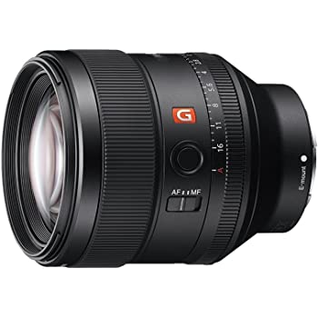 Sony SEL85F14GM.SYX - Objetivo para Sony (Lentes G Master, Distancia Focal 85mm, f/1.4 GM, Apertura Circular en 11 Láminas, para Tener el Mejor desenfoque, antirreflectante) Negro