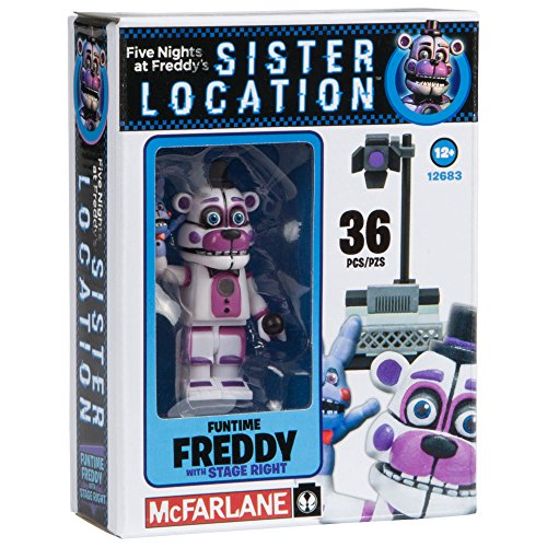 Image of McFarlane Toys Five Nights At Freddy's Spotlight Stage Right Construction Building Kit
