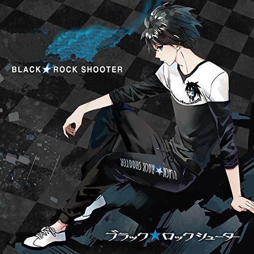 Cosplay Rock Shooter Kostüm Black - SUNKEE Anime Black Rock Shooter Cosplay Tägliche Kleidung Unifom (Lassen Sie uns Ihr Gewicht und Höhe Bevor es Bestellung) (XXL:180-185cm/80-90kg)