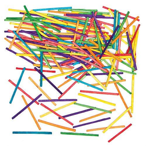 Bastoncini Colorati per Bambini per Creazioni Fai da Te, Modellistica e Realizzazione di Sculture (confezione da 1000)