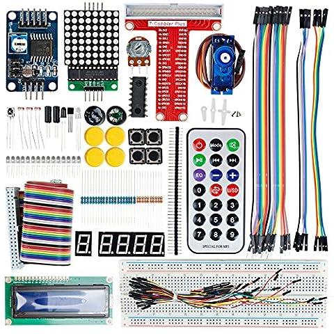 sourcingmap® UNO R3 base projet Conseil développement Arduino Kit démarrage pour les kits d'apprentissage