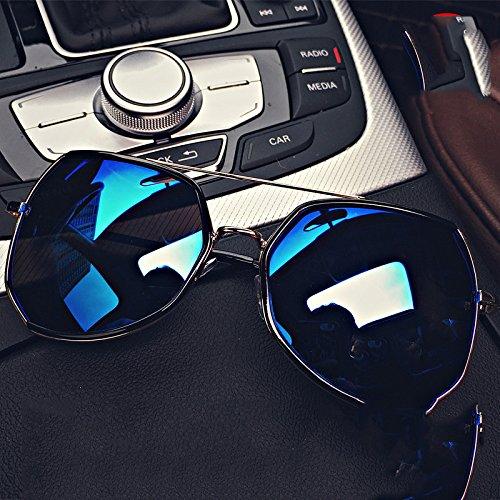 ZHH BXH BXH BXH BXH Mode Sonnenbrille Frauen Flut Persönlichkeit Runde Gesicht Sonnenbrille Mode Sonnenbrille Augen Lange Gesicht Großes Gesicht männlich,EIN,Sonnenbrille