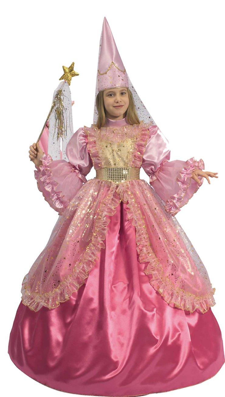 Favoloso Ciao - Principessa Sogno Rosa 3 in 1 Costume Bambina, 8-10 Anni  UV98