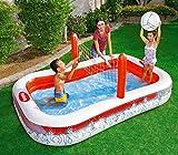 54125 Piscina gonfiabile Pallavolo per bambini Bestway con rete 253x168x97 cm. MEDIA WAVE store ®