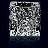 Spiegelau & Nachtmann, 2er-Set Votiv, Kristallglas, Höhe: 7 cm, Ice Cube, 0090029-0 - 2