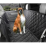 Fragralley Dog Seat Cover Unique Design & Detachable Sherpa Fleece Mat – Ultimate Pet Back Seat Covers for Cars, Trucks… 17