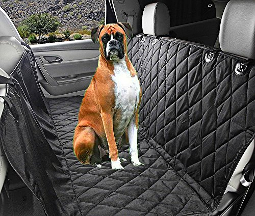 Fragralley Dog Seat Cover Unique Design & Detachable Sherpa Fleece Mat – Ultimate Pet Back Seat Covers for Cars, Trucks… 8