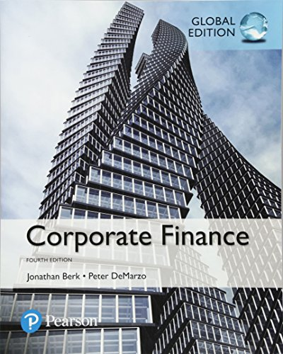Corporate Finance, Global Edition