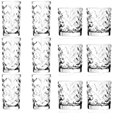 Best Red Old Fashioned Glasses - RCR Crystal Laurus Cut Glass 360ml Highball Cocktail Review