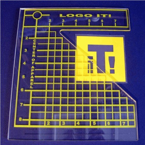yolö creative Logo it! strumento di allineamento per aiutare con il posizionamento della grafica del torace