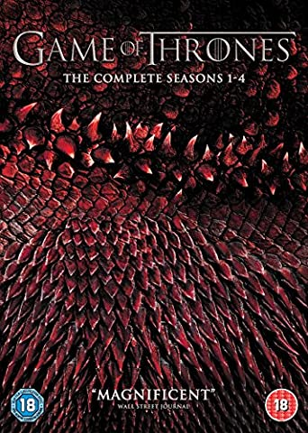 Game of Thrones: Season 1-4 [20 DVDs] [UK-Import] (Game Of Thrones Dvd 1-6)