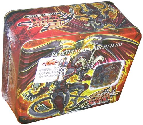 Yugioh 5D's GX 2008 1st Wave Collector's Tin - Red Dragon Archfiend - Out of ...