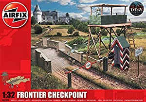 Airfix - Kit de modelismo, Edificio Frontier Checkpoint, 1:32 (Hornby A06383)