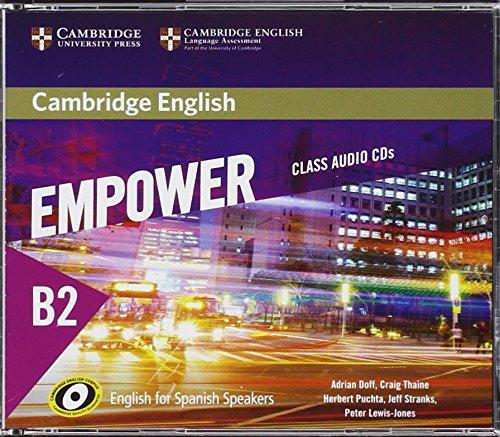 Cambridge English Empower for Spanish Speakers B2 Class Audio CDs (4)