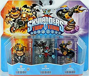 Skylanders Trap Team: Triple Pack - Hog Wild Fryno / Bat Spin / Cobra Cadabra