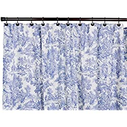 Cortina de ducha Fractal diseño Floral