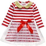 itkidboy Baby Girl First Christmas Tutu Dress Outfit My 1st Christmas Romper + Leg Warmers + Headband