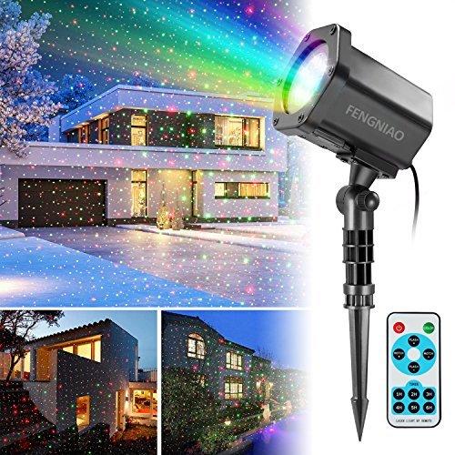 Rotierend Projektorlicht Lampe Für Garten LED Solarbetrieben Garten Haus