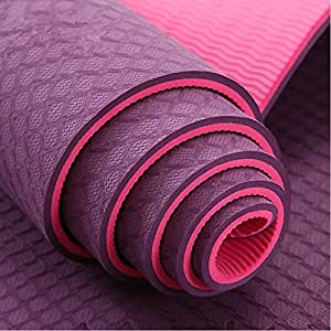 Neo Gold Leaf Eco-Friendly Double Textures TPE Yoga Mat