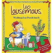 Leo Lausemaus - Weihnachts-Puzzlebuch: 5 x Puzzlespaß für zu Hause und unterwegs