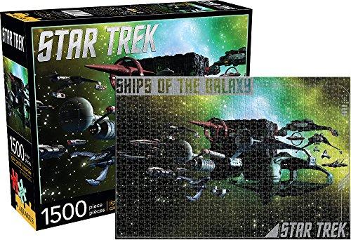 Aquarius Star Trek- Schiffe der Galaxy 1500PC Puzzle