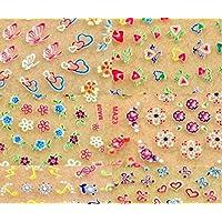 Cdet 50X Nail Art Manicure Pegatinas Pegatinas Nail Art Pegatinas diy suministros