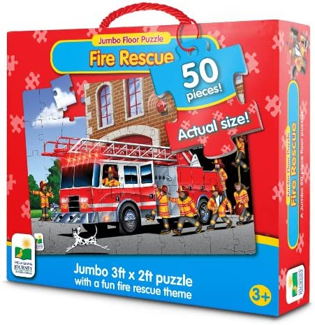 The Learning Journey Puzzles de sol Jumbo - Fire Engine Engine Engine Rescue | Mode Attrayant  1e11fb