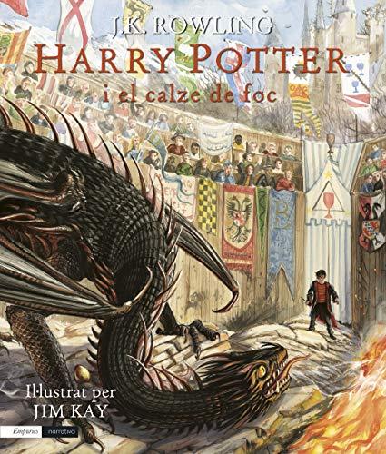 Harry Potter i calze foc edició il·lustrada: Il·lustrat