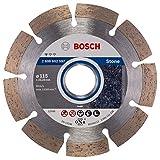 Bosch Professional Elmas Bıçak, 115 Mm, Gri