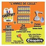 Cléopâtre BDVI5L-24VI110P - Vinyl'Ecole - Pack Année de colle - Colle Transparent