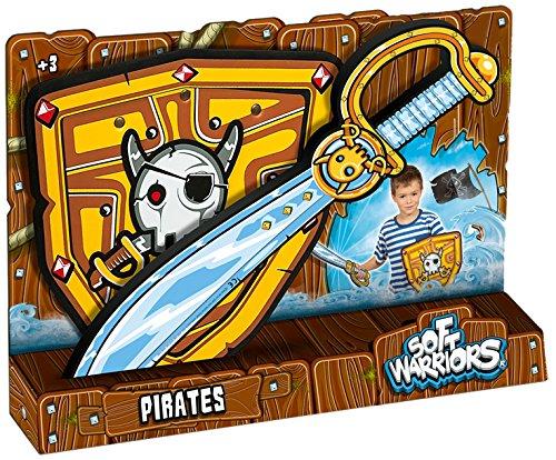 Soft Warriors - Pack Espada y Escudo Pirata