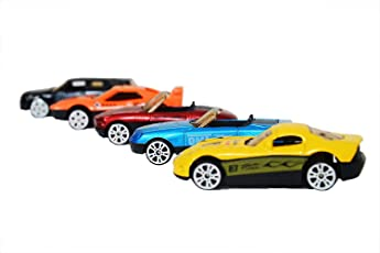 Amitasha Super Die Cast Racing Cars Play Toy Set for Kids