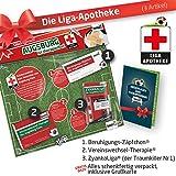 Geschenk-Set: Die Liga-Apotheke für FCA-Fans | 3X Süße Schmerzmittel für FC Augsburg Fans | Die Besten Fanartikel der Liga, Besser als Trikot, Home Away, Fan-Schal & Kennzeichenhalter