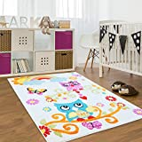 Turquesa alfombras alfombras y moquetas - Alfombras dormitorio amazon ...
