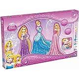 Orb Factory ORB11402 - Loisirs Créatifs - Maxi Format Disney Princesses, Cendrillon, Raiponce, Aurore - Sticky Mosaiques Autocollantes aux Numéros