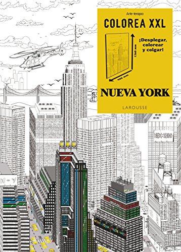 Colorea XXL. Nueva York (Larousse - Libros Ilustrados/ Prácticos - Ocio Y Naturaleza)