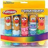 Playskool Mr. Potato Head 5-Pack Chalk Holders, With Chalk (11276)