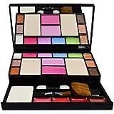Preyansh Fashion Makeup Kit - 10 Eye Shadows Palette 4 Lip Colour 2 Compact Powders 2 Blushers