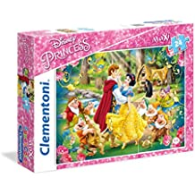 Clementoni 24469 - Biancaneve Maxi Puzzle, 24 Pezzi