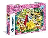 Clementoni Biancaneve Supercolor Puzzle, 24 Pezzi, 24469